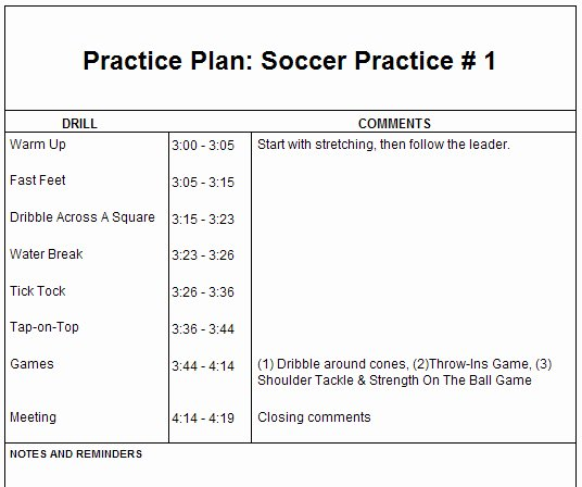 Blank Basketball Practice Plan Template New Basketball Practice Plan Template