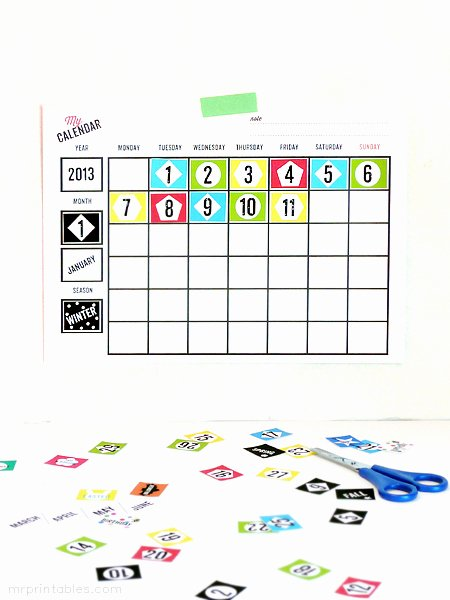 Blank Calendar for Kids Beautiful Jenny Citino 2014 Free Printable Calendars