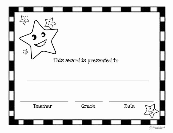 Blank Certificates to Print Beautiful You're A Star Free Printable Blank Certificates