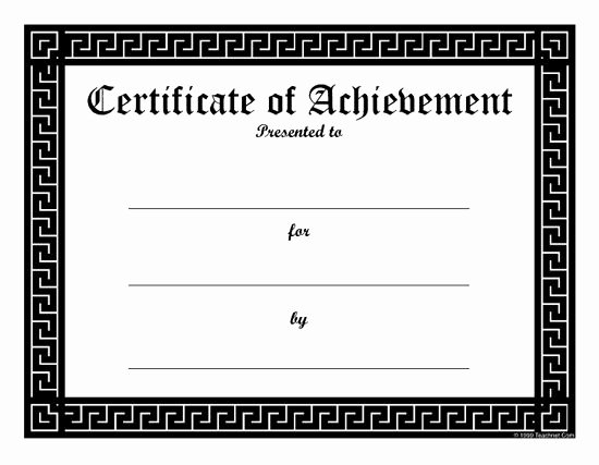 Blank Certificates to Print Elegant Best 25 Blank T Certificate Ideas On Pinterest