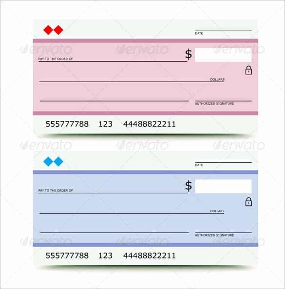 Blank Checks for Kids Elegant 24 Blank Check Template Doc Psd Pdf & Vector formats