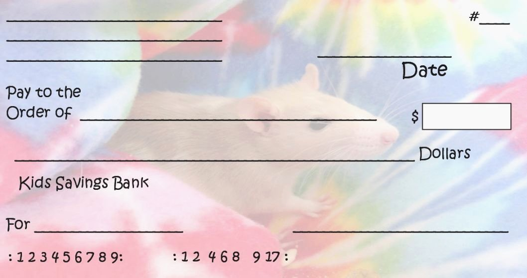 Blank Checks for Kids Fresh 39 Striking Printable Checks for Kids