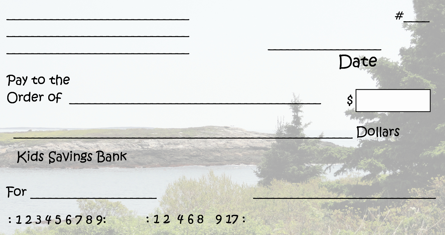 Blank Checks for Kids Inspirational Free Clipart N Printable Pretend Checks for Kids