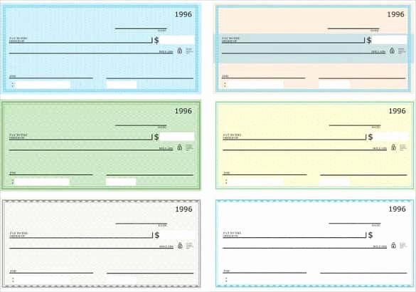 Blank Checks for Kids New 24 Blank Check Template Doc Psd Pdf & Vector formats