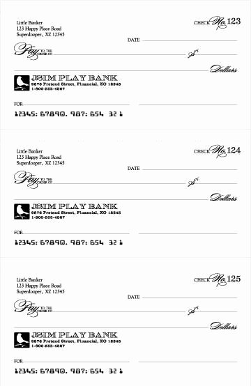 Blank Checks for Kids New Best 25 Play Money Ideas On Pinterest