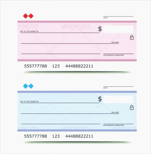 Blank Checks for Kids New Best Magic Printable Checks
