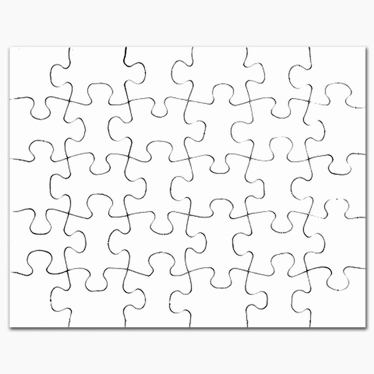 Blank Crossword Puzzle Maker Best Of Blank Puzzles Blank Jigsaw Puzzle Templates Puzzles