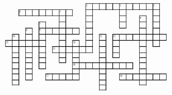 Blank Crossword Puzzle Maker Best Of too Much Information – Chad Ragsdale