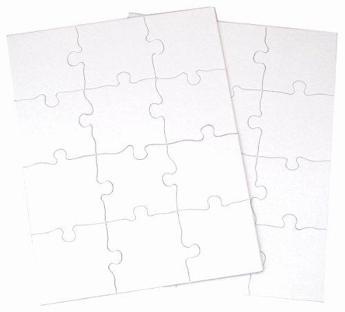 Blank Crossword Puzzle Maker Luxury Inovart Puzzle It Blank Puzzles 12 Piece 8 1 2 X 11 12