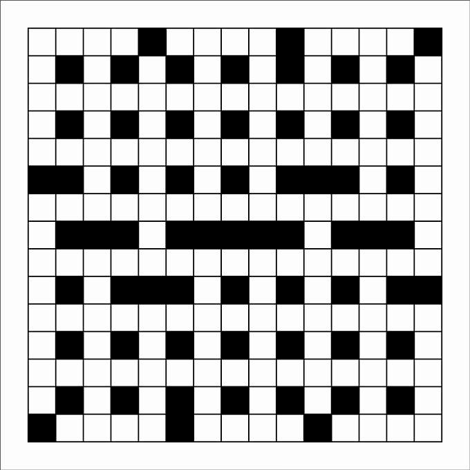 Blank Crossword Puzzle Maker New 15 Blank Crossword Template Crossword Template
