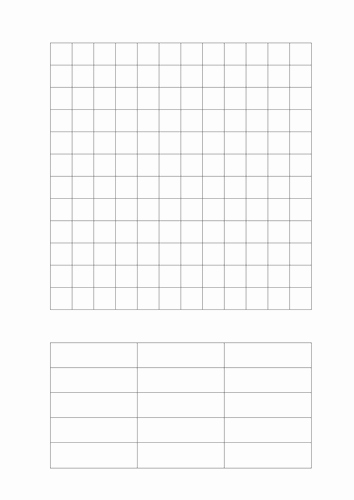 Blank Crossword Puzzle Maker New Blank Wordsearch Grid by Ballder Teaching Resources Tes