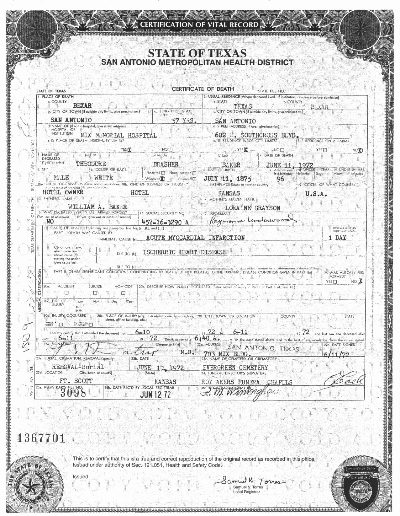 Blank Death Certificate form Luxury Best S Of Texas Death Certificate Texas Death