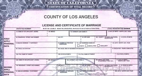 Blank Death Certificate form Unique Getting Certified Copies Of California Marriage Certificate
