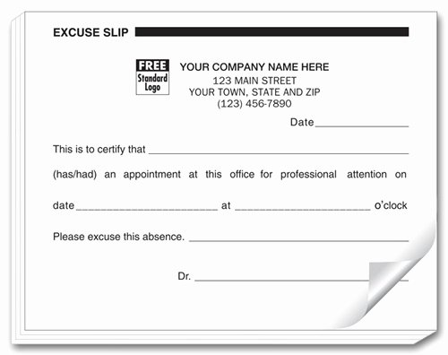 Blank Doctors Excuse form Lovely Best S Of Free Doctors Excuses Blank Doctors