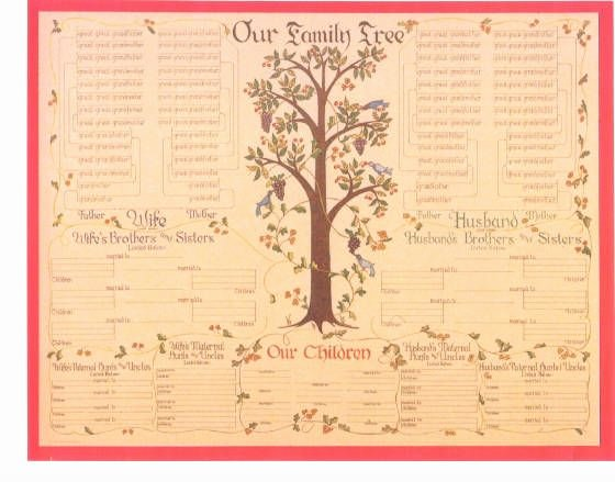 Blank Family Tree Poster Lovely Printable Blank Family Tree