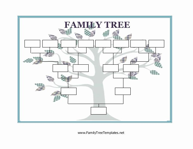 Blank Family Tree Poster New Blank Family Tree