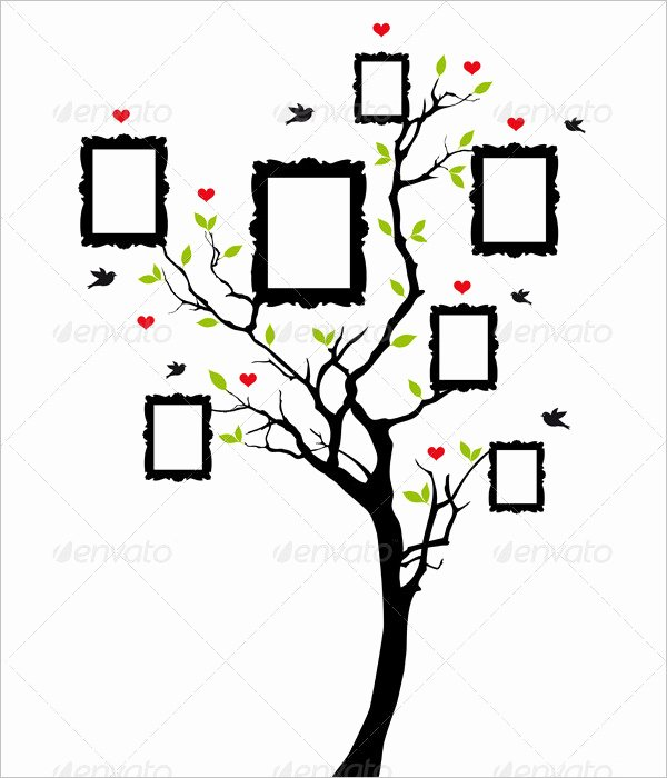 Blank Family Tree Template Elegant Blank Family Tree Chart 6 Free Excel Word Documents