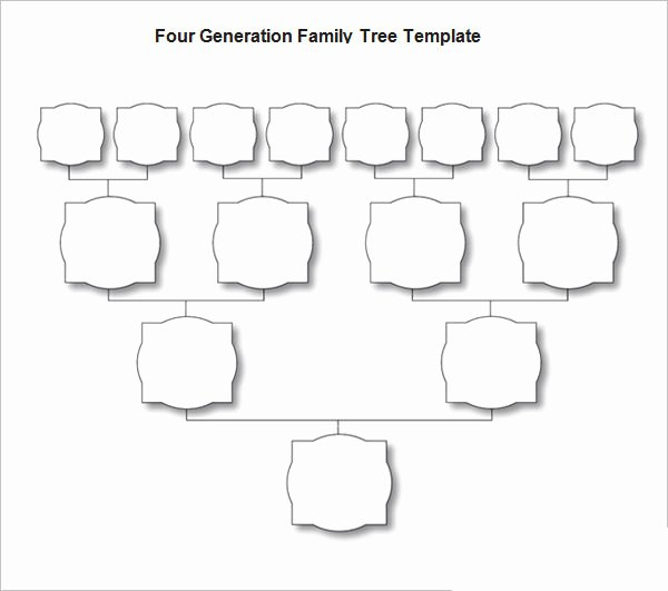 Blank Family Tree Template New New form for Making Family Tree