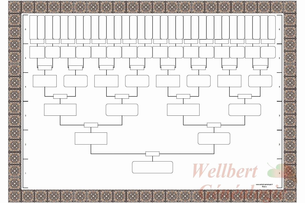 Blank Family Tree Template Unique Fill Blank Family Tree Template …