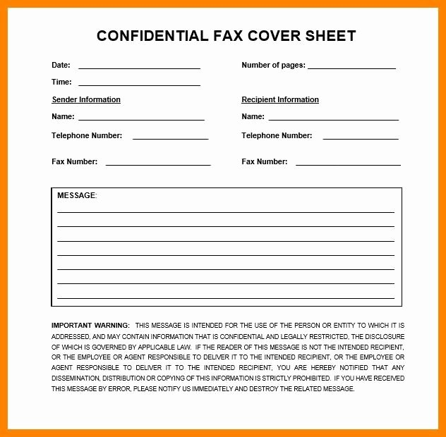 Blank Fax Cover Page Elegant Free Fillable Blank Fax Cover Sheet Template 3248