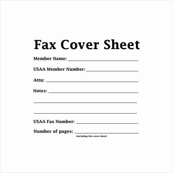 Blank Fax Cover Page Elegant Sample Cute Fax Cover Sheet 6 Documents In Pdf