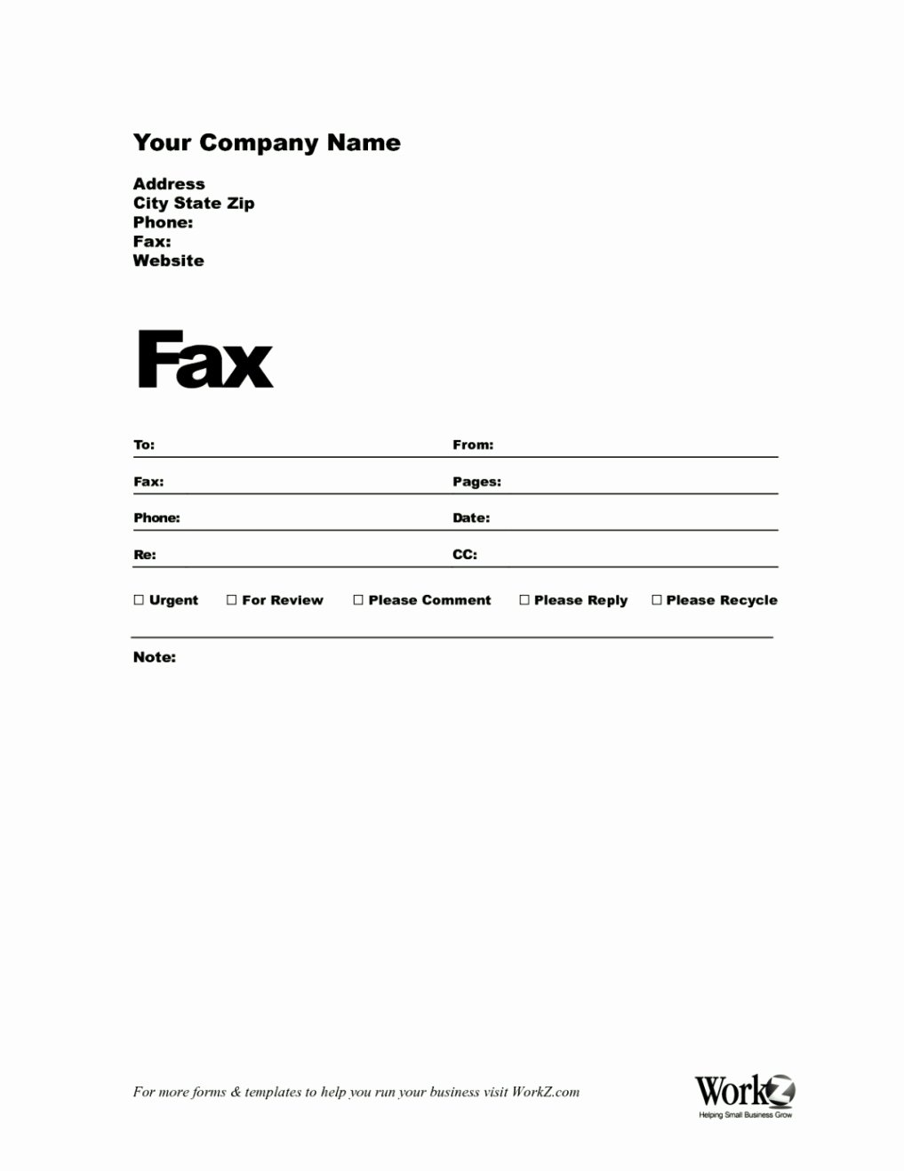 Blank Fax Cover Page Fresh Blank Fax Cover Sheet Template Update234 Template