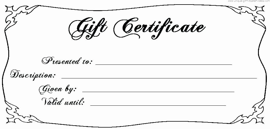 Blank Gift Certificate Template Free Fresh Image Result for T Certificate Template Free