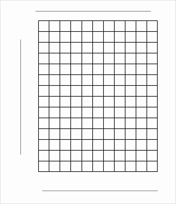 Blank Graph Paper Template Beautiful 12 Graph Paper Templates Pdf Doc