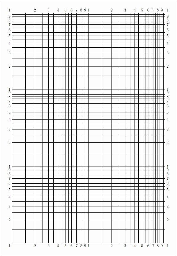 Blank Graph Paper Template Beautiful Sample Blank Graph Paper 9 Free Documents In Pdf