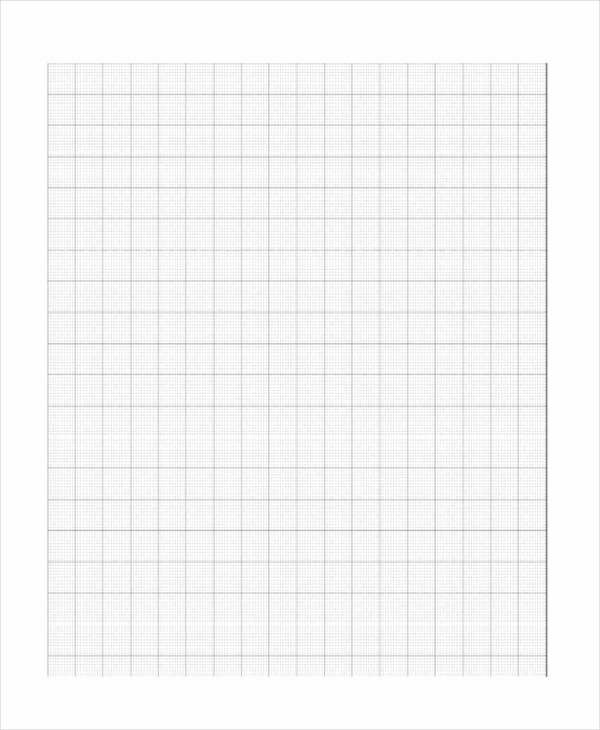 Blank Graph Paper Template Inspirational 18 Paper Templates In Word