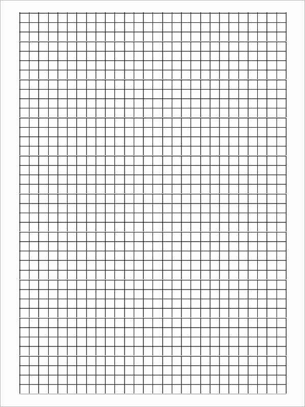 Blank Graph Paper Template Luxury Free 9 Printable Blank Graph Paper Templates In Pdf