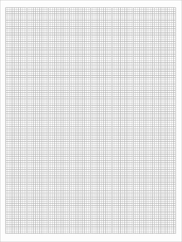 Blank Graph Paper Template Unique Free 9 Printable Blank Graph Paper Templates In Pdf