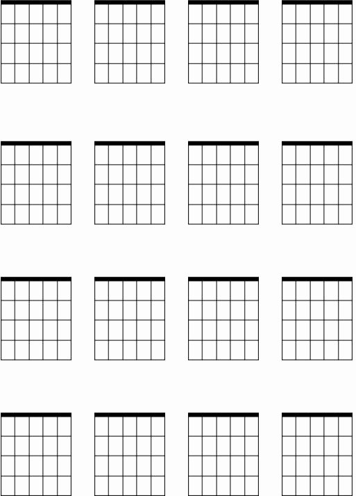 Blank Guitar Tab Unique Blank Guitar Chord Sheets Printable