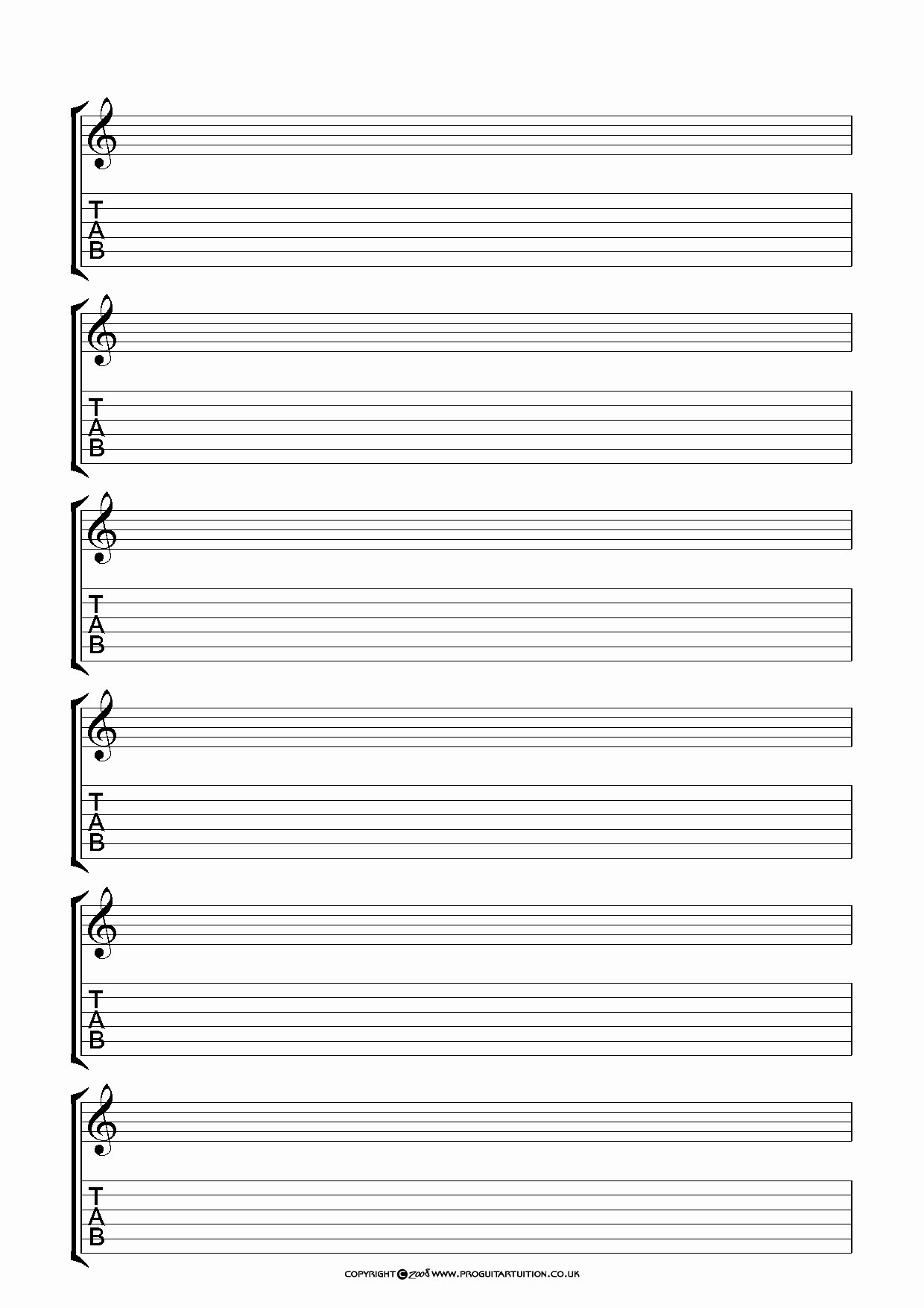 Blank Guitar Tab Unique Line Game Testing Jobs at Home