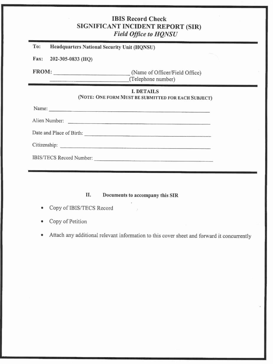 Blank Incident Report form Best Of 13 Incident Report Templates Excel Pdf formats
