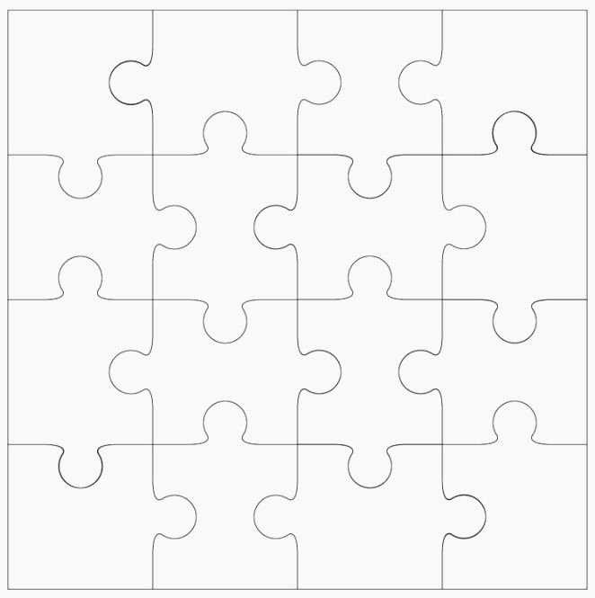 Blank Jigsaw Puzzle Template Elegant Best 39 Crafty Make Your Own Puzzle Printable