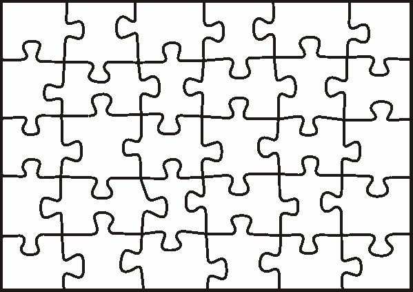 Blank Jigsaw Puzzle Template Inspirational Puzzle Template Students Create A Piece to Be All Joined