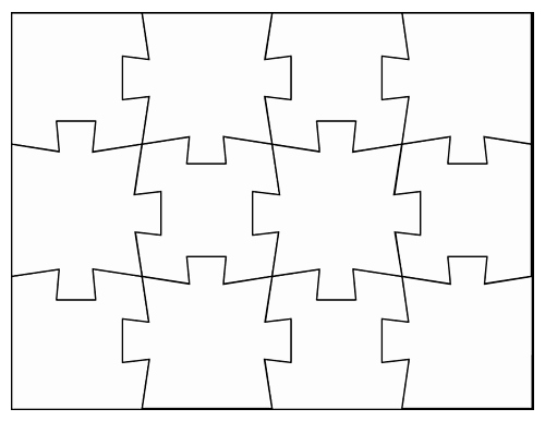 Blank Jigsaw Puzzle Template Lovely Tim Van De Vall Ics & Printables for Kids