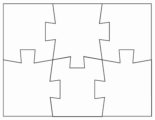 Blank Jigsaw Puzzle Template Luxury 9 Best Board Images On Pinterest