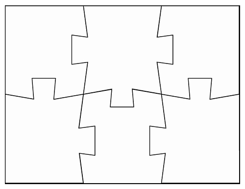 Blank Jigsaw Puzzle Template Luxury Tim Van De Vall Ics & Printables for Kids