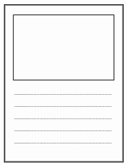 Blank Lined Paper for Kindergarten Elegant Best S Of Blank Writing Paper for Kindergarten Free