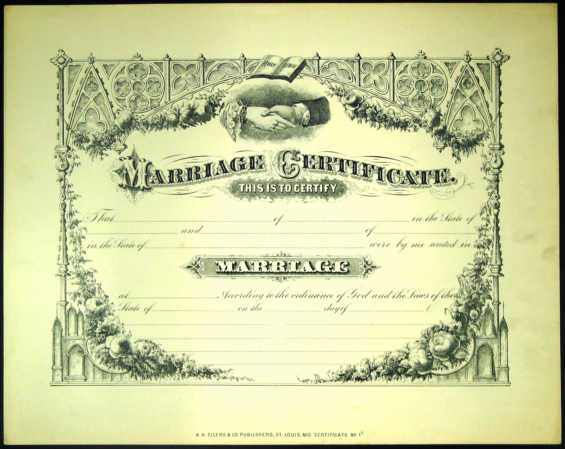 Blank Marriage Certificate Template Best Of Imposter tour 19 the Wedding Feast