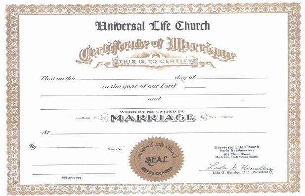 Blank Marriage Certificate Template Luxury Presenting the Reverend Doctor Doug Hayashi