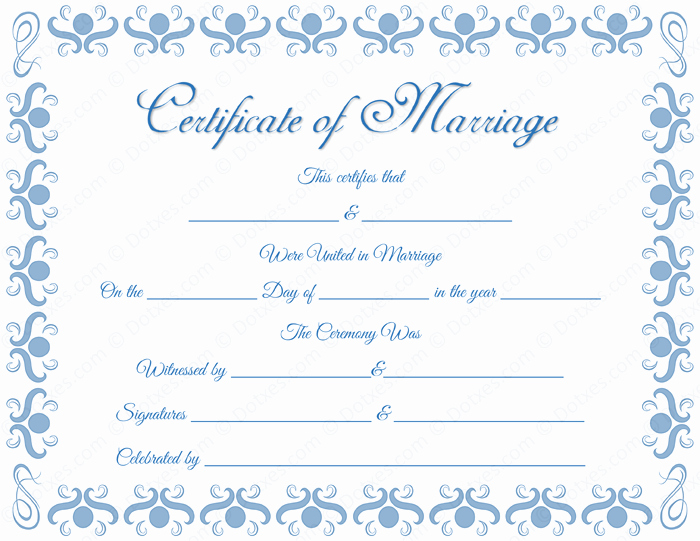 Blank Marriage Certificate Template New Round Grill Border Marriage Certificate Template Dotxes