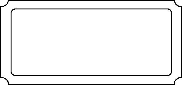 Blank Movie Ticket Template Beautiful Ticket Blank Clip Art at Clker Vector Clip Art