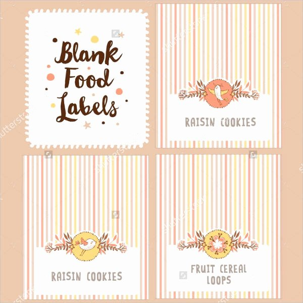 Blank Nutrition Label Template Beautiful 12 Blank Food Label Template Free Printable Psd Word