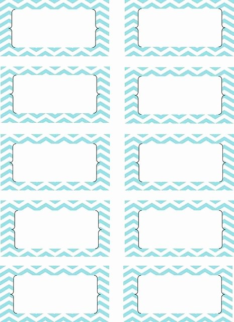 Blank Nutrition Label Template Luxury Free Printable Chevron Labels Misc Crafts