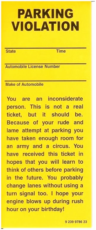 Blank Parking Ticket Template Awesome 9 Printable Parking Ticket Template Eprot