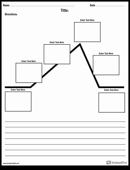 Blank Plot Diagram Elegant Create A Plot Diagram Worksheet