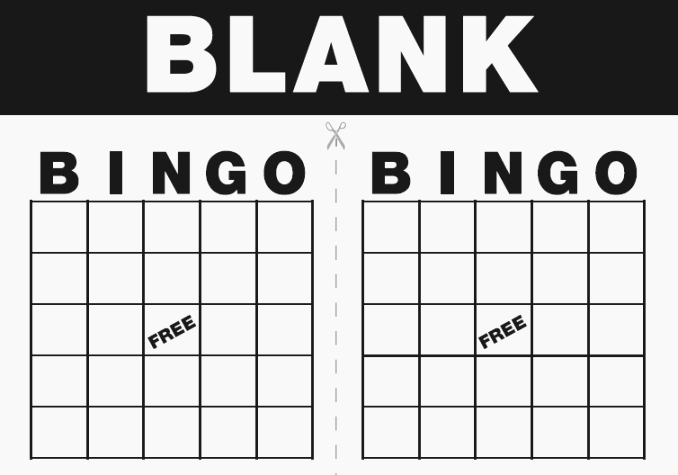 Blank Printable Bingo Cards Elegant Adaptable Printable Bingo Games